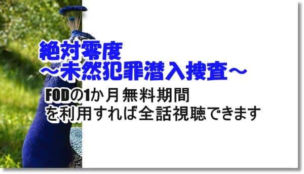 絶対零度~未然犯罪潜入捜査~