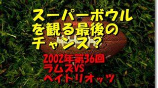 2002年第36回スーパーボウル