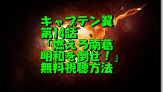 キャプテン翼第14話動画無料視聴