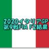 2020第9戦イタリアGPF2結果