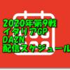2020年第9戦イタリアGPDAZN配信スケジュール